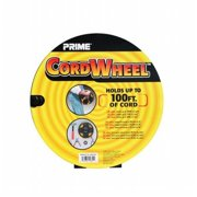 Prime Wire Cord Storage Wheel, Black
