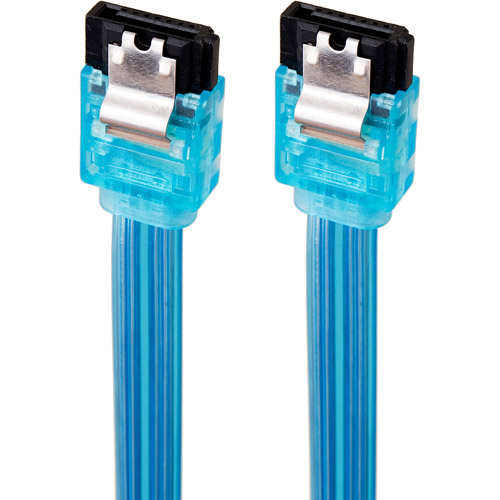 Link Depot 1.5' 3Gbps SATA Cable, Assorted UV Colors