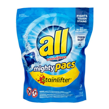 All With Stainlifters Mighty Pacs - 30 CT