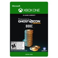 Xbox One Tom Clancy's Ghost Recon Wildlands Currency pack 800 GR credits (email delivery)