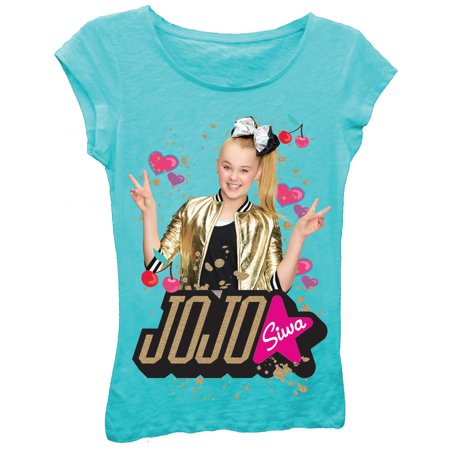 Little Girl Planter - JoJo Siwa Glitter Graphic T-Shirt (Little Girls & Big Girls)