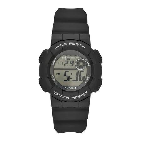 f77b5db58ba Men s Digital Sport Watch in Black - Walmart.com