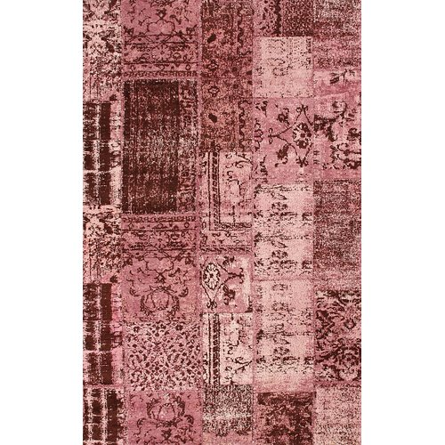nuLOOM Overdye Delight Patchwork Lilac Rug