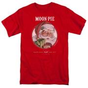 Moon Pie Snacks For Santa Mens Short Sleeve Shirt