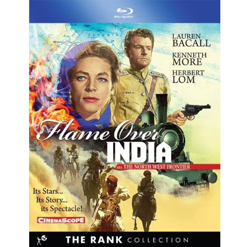 The Flame Over India (1959) (The Rank Collection) (Blu-ray)