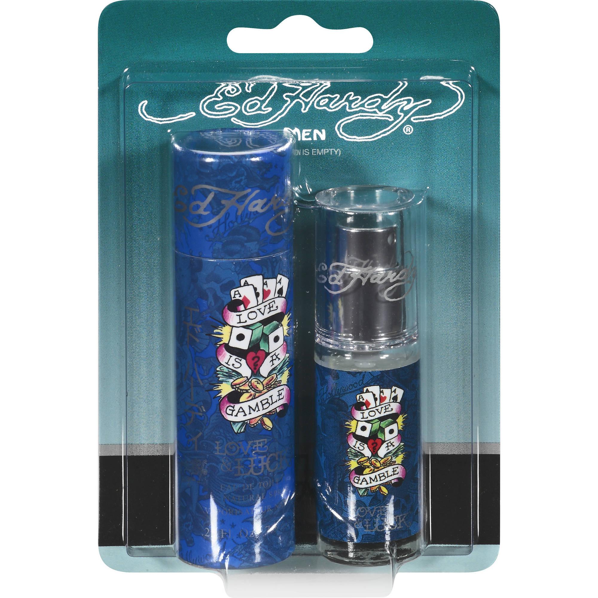 Ed Hardy Love & Luck Eau de Toilette Spray for Men, 0.25 fl oz