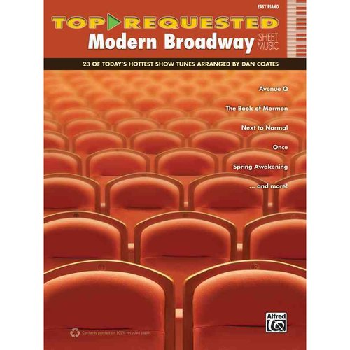 Top-Requested Modern Broadway Sheet Music: Easy Piano