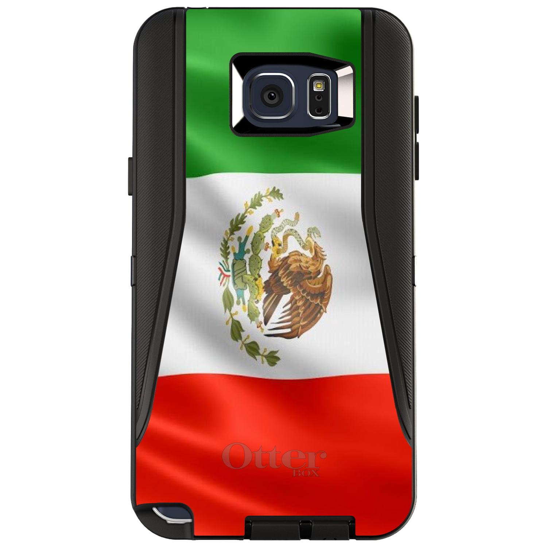 DistinctInk Custom Black OtterBox Defender Series Case for Samsung Galaxy Note 5...