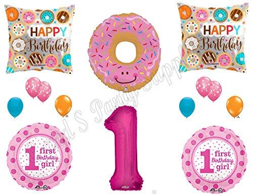 Cupcake Party Ice Cream Birthday Donut Birthday Party Donut Party Balloon Donut Balloons Girl Birthday Balloon Ice Cream Party Decor