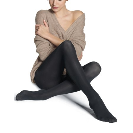 Bliss Silk - Silk Reflections Women`s Pure Bliss Luxe Opaque Pantyhose, 0B649, AB
