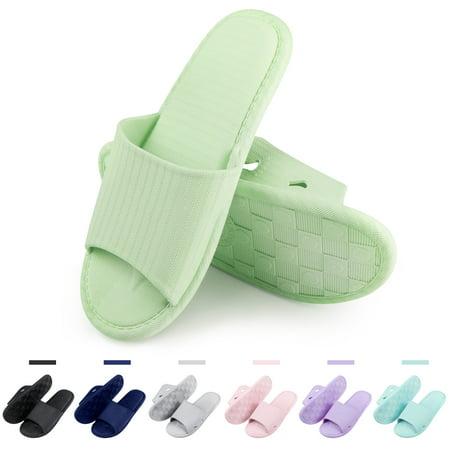 af4a97ddc4f notjustagarget - Women s Slip On Slippers Non-Slip Shower Sandals ...