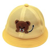 nomeni (6-18 months)Baby Boys Girls Summer Cartoon Beer Sun Protection Hat Sunscreen Cap