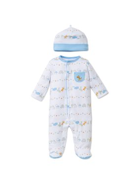 b47309518ed6 Baby Boys One-piece Pajamas - Walmart.com