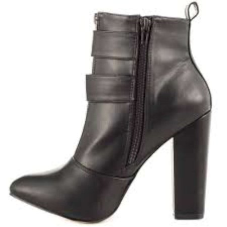 Just Fab Womens Talur Round Toe Ankle Fashion Boots