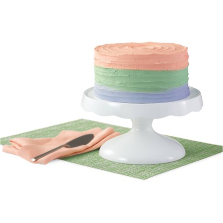 Wilton 2-in-1 Cake Stand and Serving Plate, 307-1257