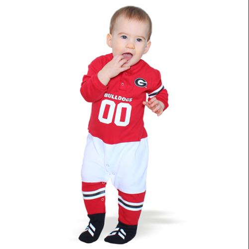 Georgia Bulldogs Official NCAA  Footysuit by Glitter Gear