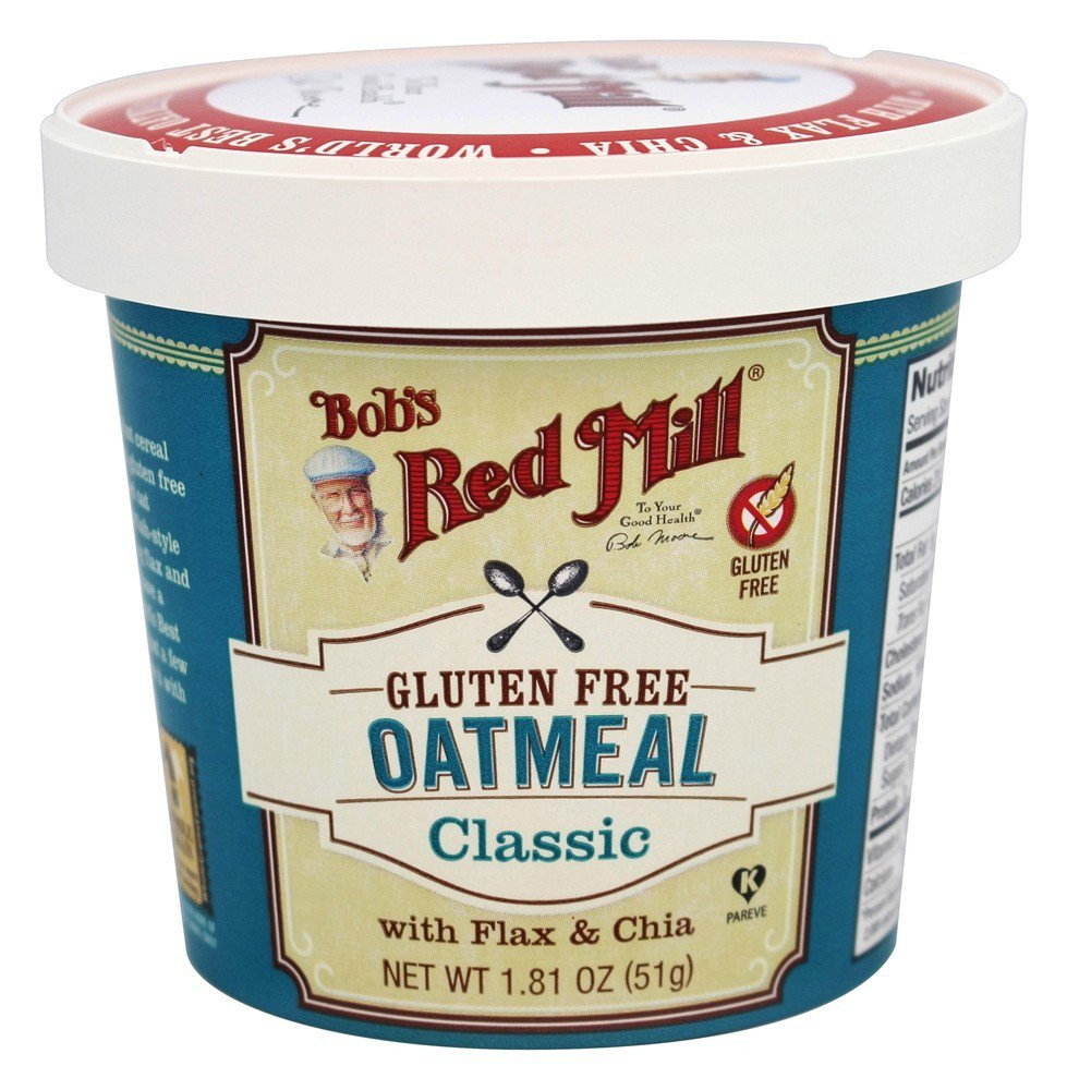 Bobs Red Mill Oatmeal Cup Classic, 1.81 oz(pack of 12)