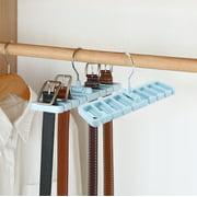 YLSHRF 1Pc Tie Rack Hanger Rotating Hook Belt Holder Closet Ties Storage Organizer, Tie Rack,Tie Hanger