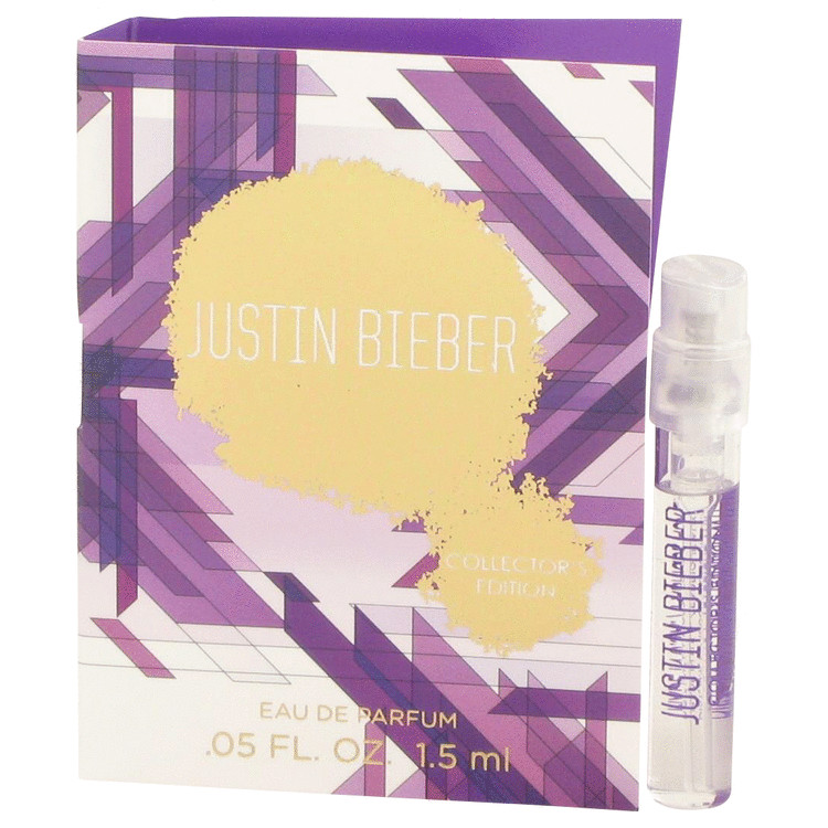 Justin Bieber Collector's Edition by Justin Bieber - Women - Vial (Sample) .05 oz
