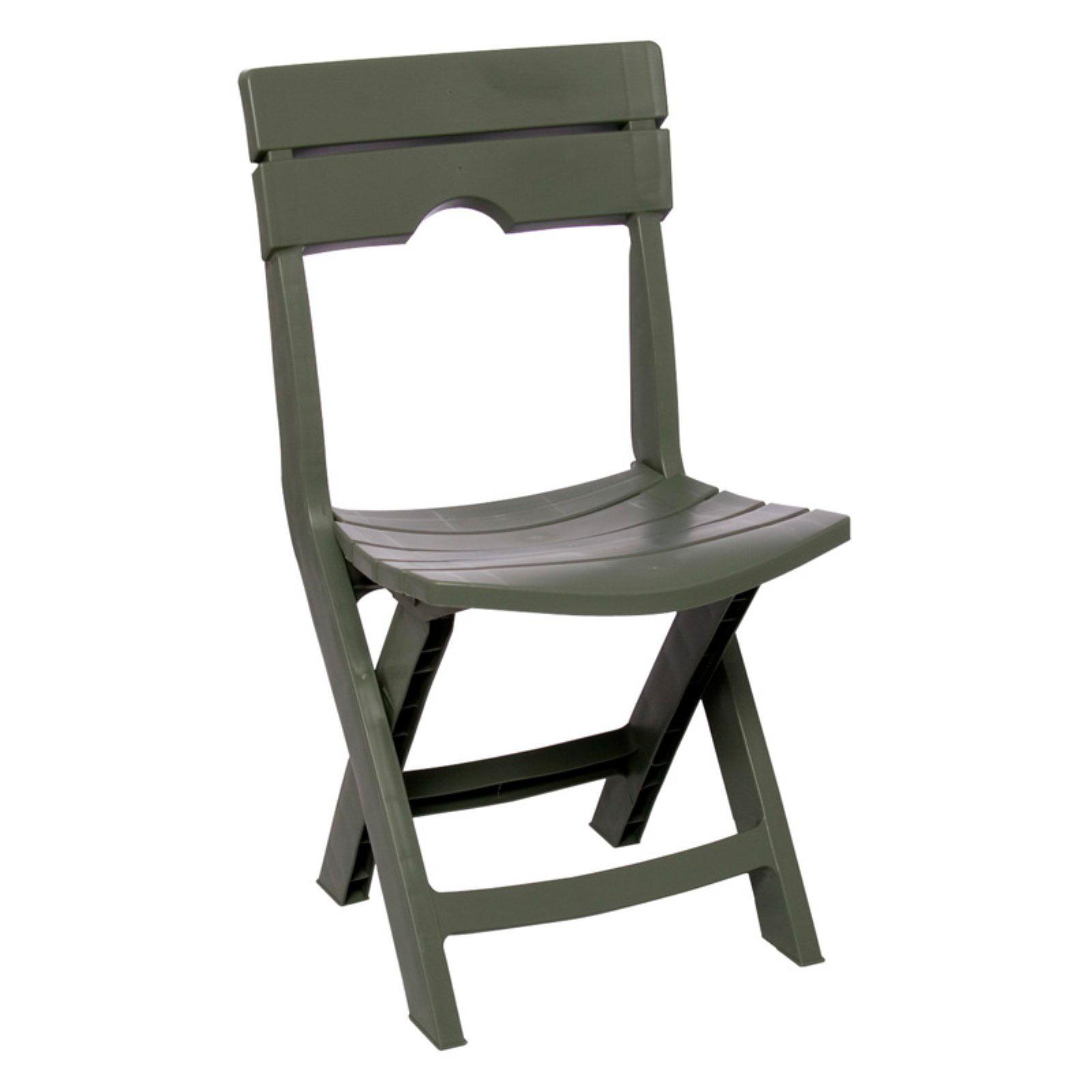 Adams Manufacturing Quik-Fold Chair, Sage