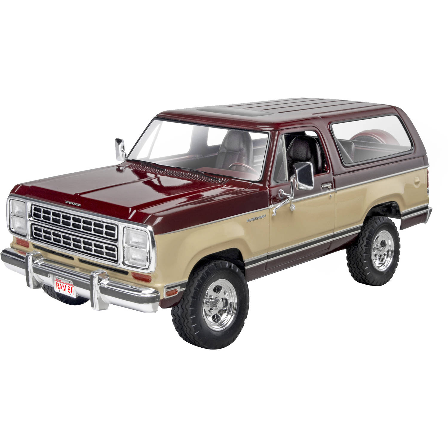 Revell 1:24 1980 Dodge Ramcharger Plastic Model Kit