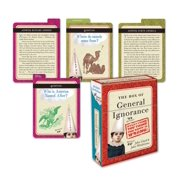 The Box of General Ignorance : 100 Flash Cards to Entertain Your Brain