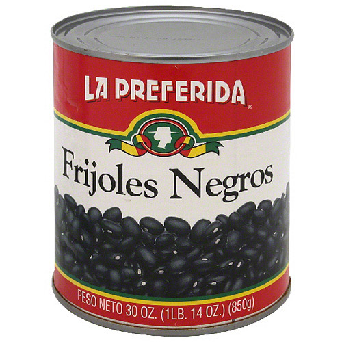 La Preferida Black Beans, 30 oz (Pack of 12)