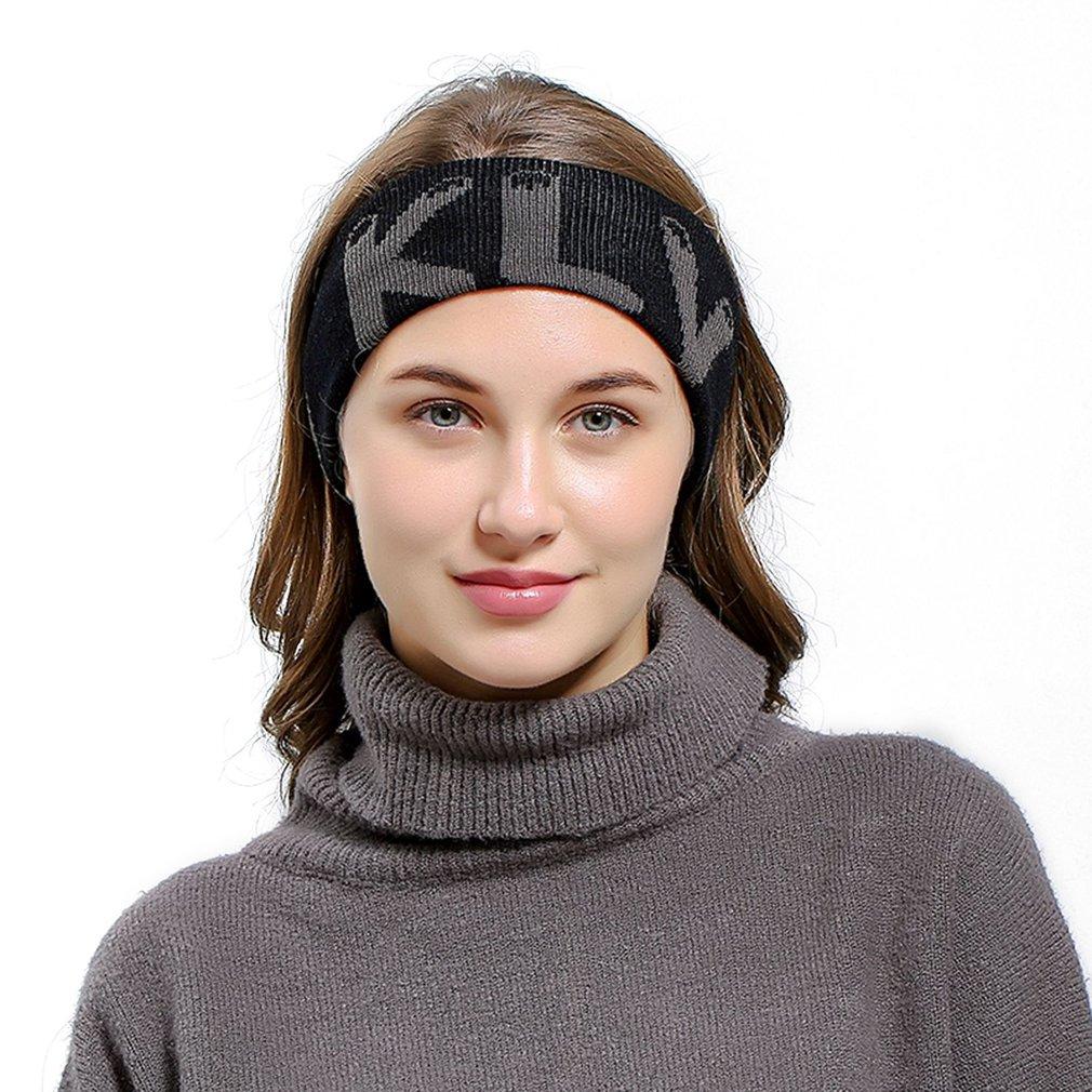32c374dfd0de Elastic Knitted Head Band Outdoor Sports Headband Stylish Men ...