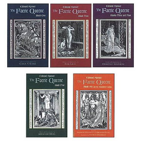 The Faerie Queene: Complete in Five Volumes : Book One; Book Two; Books Three and Four; Book Five; Book Six and the Mutabilitie (The First Booke Of The Faerie Queene)
