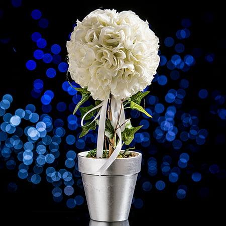 Rose Topiary Centerpiece