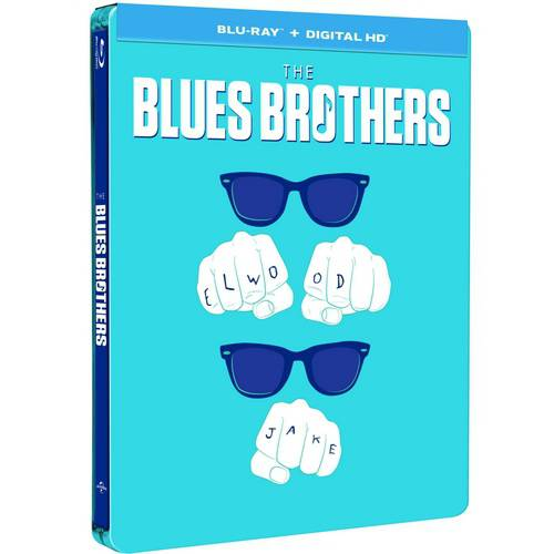 The Blues Brothers (Limited Edition) (Steelbook) (Blu-ray   Digital HD) (With INSTAWATCH)