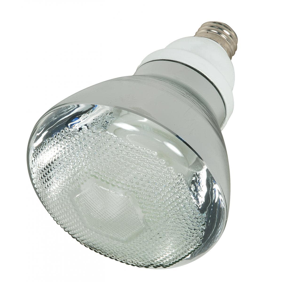 Satco Lighting S7275 Single 23 Watt BR38 Shaped Medium (E26) Base Compact Fluorescent Bulb