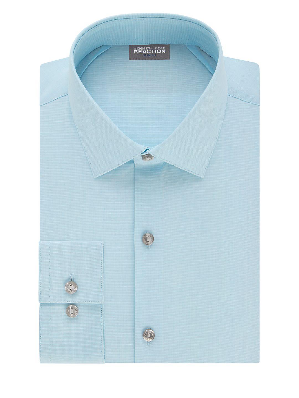 Slim-Fit Cotton-Blend Dress Shirt