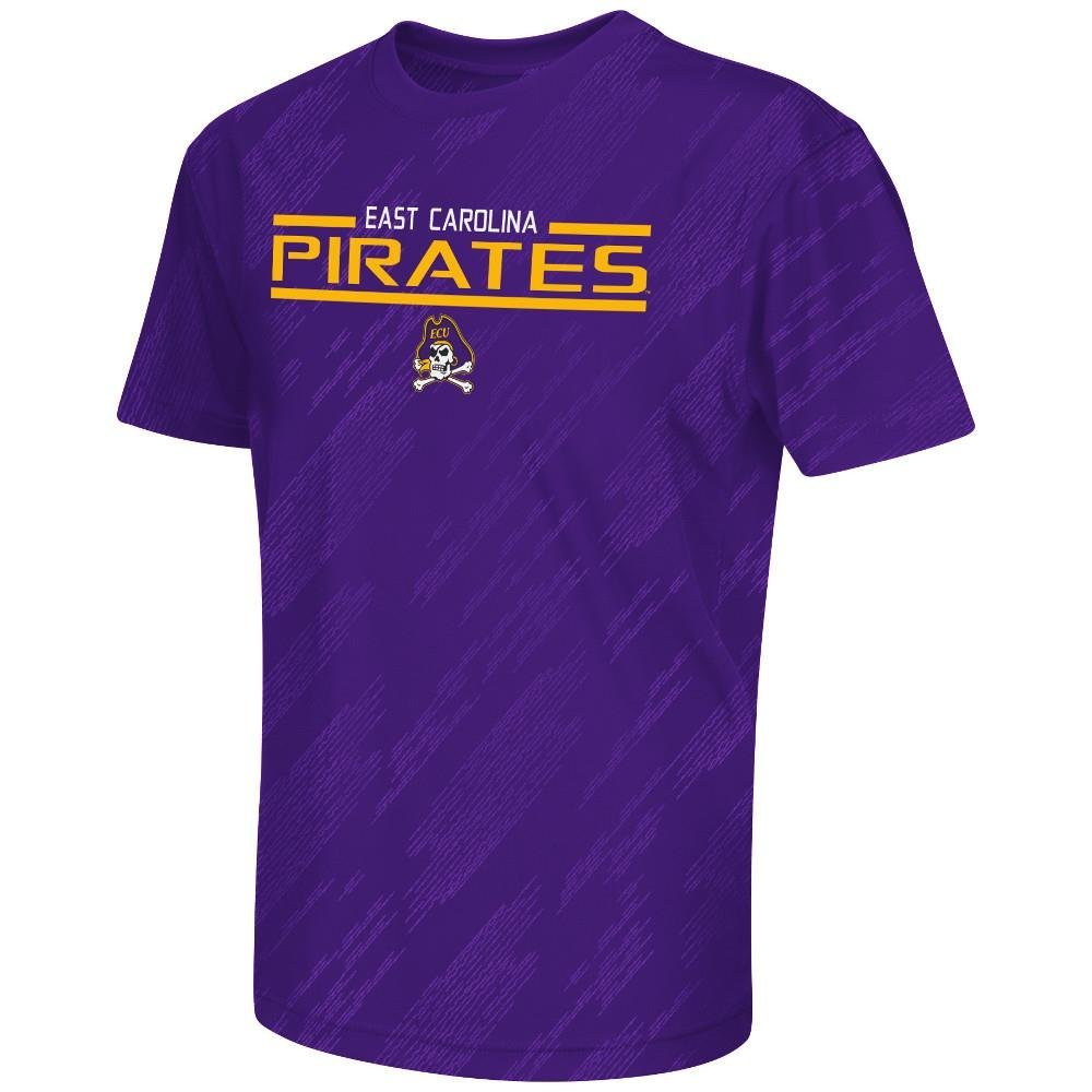 Youth NCAA East Carolina Pirates Performance Short Sleeve Tee Shirt (Team Color) - XL, Performance Short Sleeve Tee Shirt. Fabric: 100% Polyester..., By Colosseum Ship from US