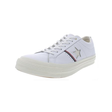 Converse Mens One Star OX Leather Low Top Casual Shoes - Converse Personalised
