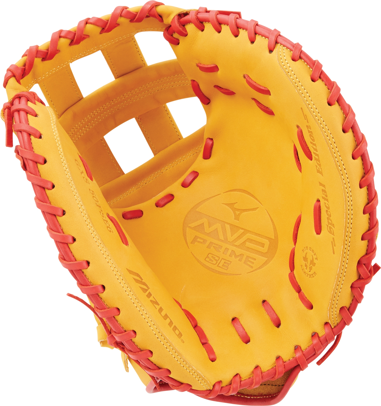 "Mizuno GXS50PSE6 MVP Prime SE 34"""" Fastpitch Catcher's Mitt Right Hand Throw by"