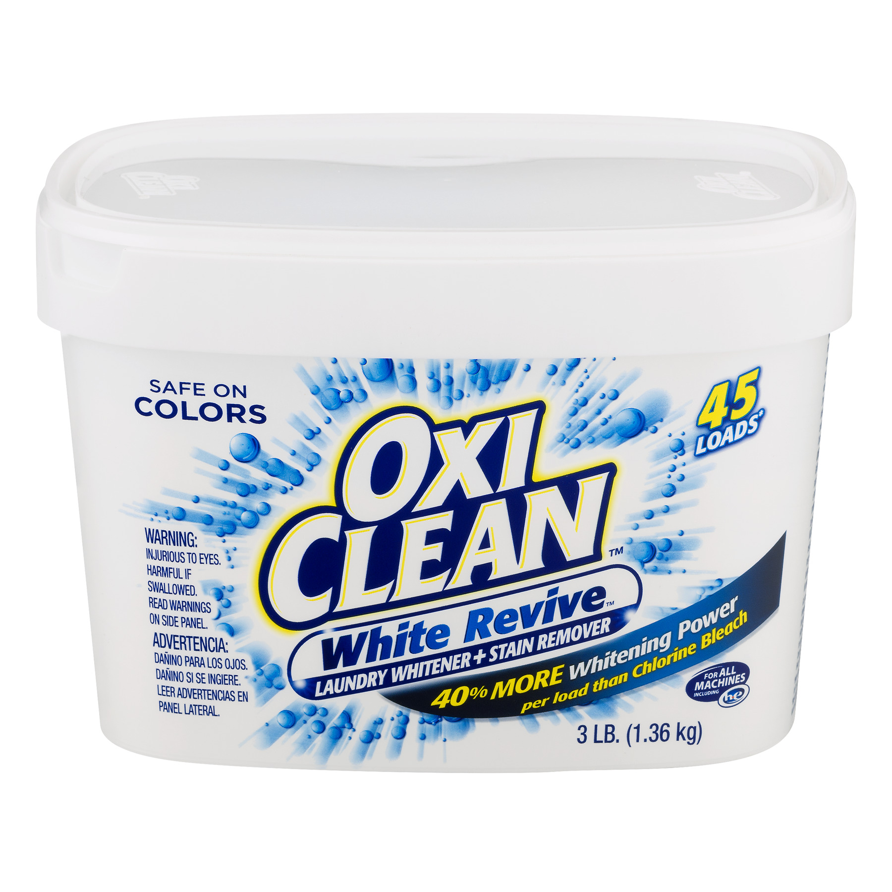 OxiClean White Revive Stain Remover, 48 Oz