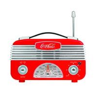 Coca-Cola CCR01 Retro Desktop Vintage Style AM/FM Battery Operated Radio