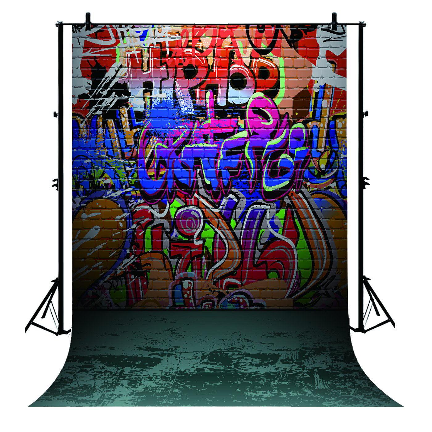 Graffiti On Wall Birthday Banner