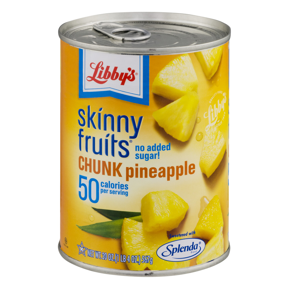 Libby's Skinny Fruits Chunk Pineapple, 20.0 OZ