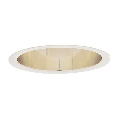 Lightolier 1146 6-3/4 Inch Down Light Deep Reflector Trim Round Specular Clear Lytecaster
