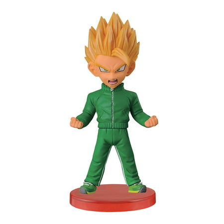 Banpresto Dragon Ball Z 2.8-Inch Super Saiyan Gohan World Collectable Figure, Z