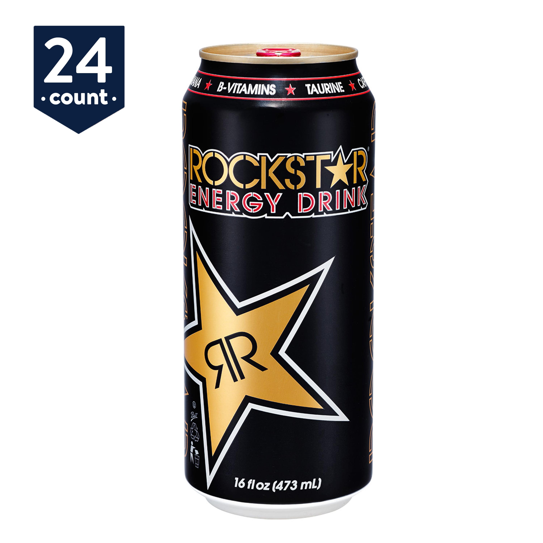 Rockstar Original Energy Drink, 16 oz Cans, 24 Count