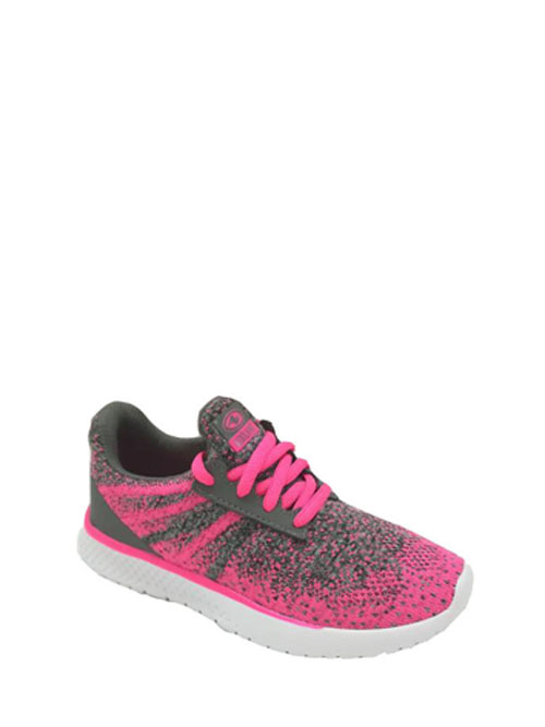 Athletic Works Girls Light Weight Knit Athletic Shoe