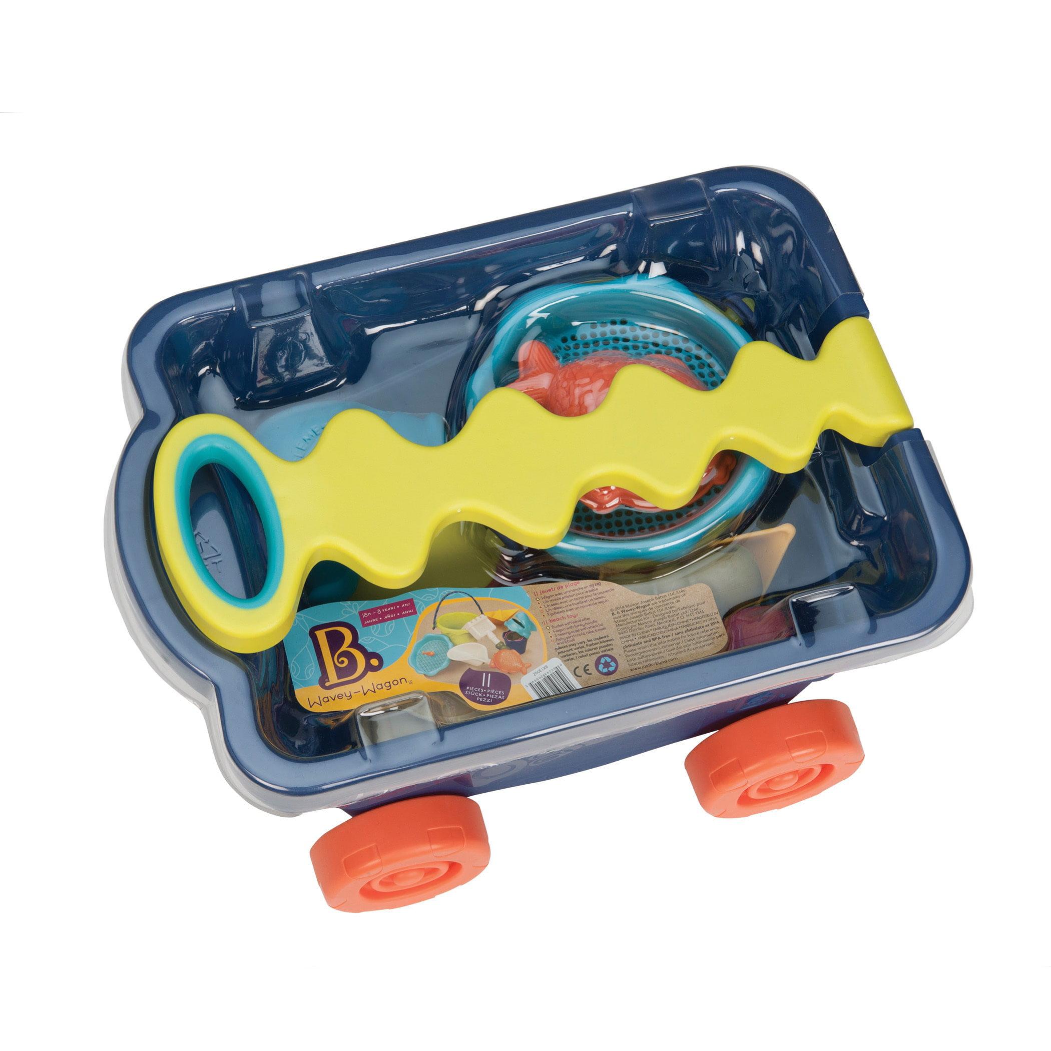 Toysmith B. Toys B. Wavy Wagon Beach Toy by Overstock