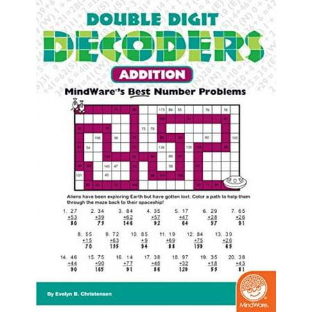 Double Digit Decoders: Addition](Halloween 3 Digit Addition)