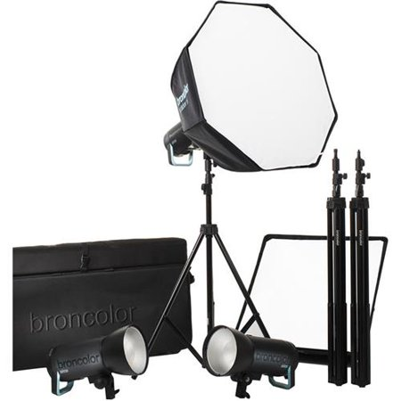 Broncolor Siros 800 S Pro 3 Monolight Flash Kit, (800 Monolight)