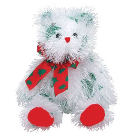 - TY Punkies - LIL' SANTA CLAWS the Bear (9 inch)