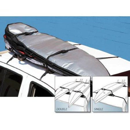 Creatures of Leisure Single Wrap Rax Surfboard Roof Rack, Holds 3 Boards