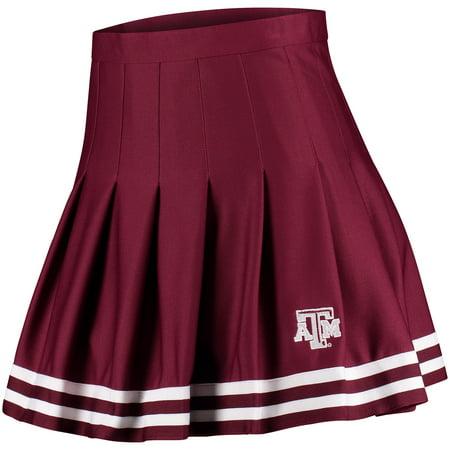 Texas A&M Aggies ZooZatz Women's Rah Rah Cheer Skirt - Maroon](Maroon Skirt)